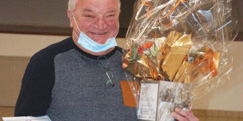 Yves Caron reçoit le titre de Maire Adjoint Honoraire