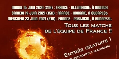 Bientôt l'Euro 2021 !