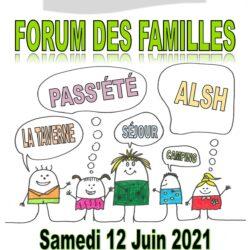 FORUM FAMILLE 2021 – CAP SUR L'ÉTÉ