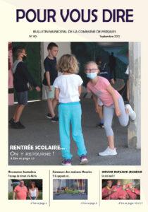 Le bulletin municipal de la Commune et Ferques est disponible en mairie ou en ligne